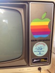 The monitor from my first Apple II computer