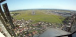 Visual approach into RWY23 Adelaide