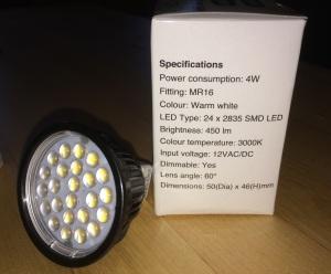 MR16 24x2835-SMD (450 Lumens)