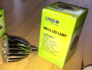 MR16 CREE 3 x 2W LED (310 Lumens)