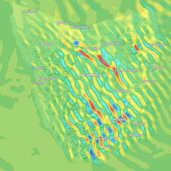 Whole of Tasmania Wave Systems